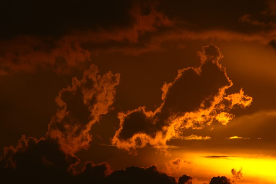 'Fire in the Sky' (Nov 2011) - Bukit Batok, Singapore