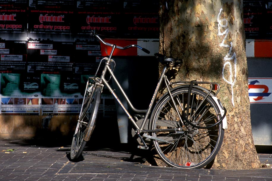 'Parked Bicycle' (Sep 2000) -  Rotterdam, Holland