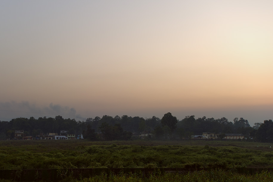 'Belt of Venus' (Dec 2009) - Hetauda, Nepal