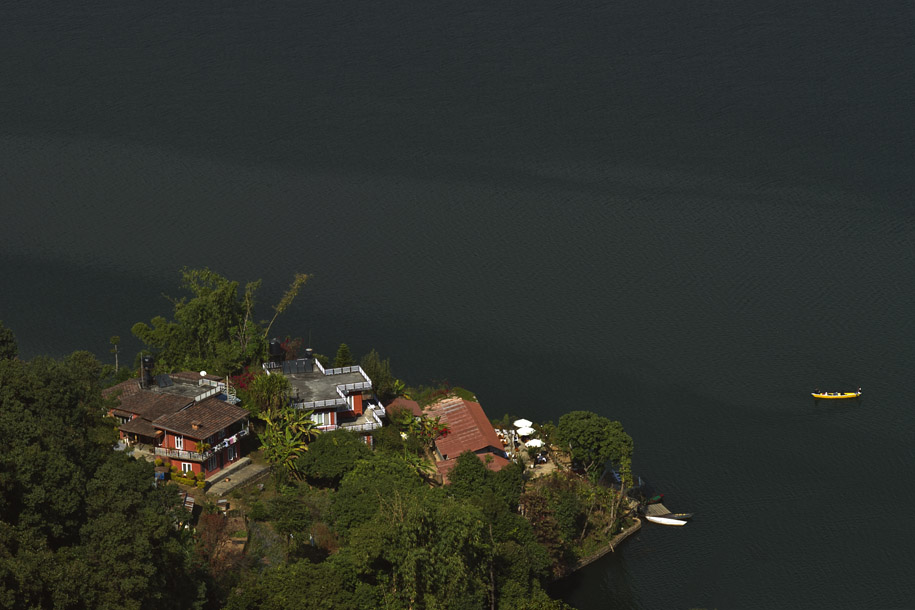'Houses by the Lake' (Dec 2009) - Pokhara, Nepal
