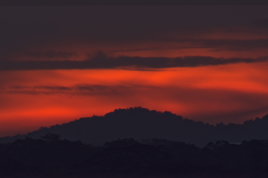 'Red Sky in the Evening' (May 2013) - Bukit Batok, Singapore