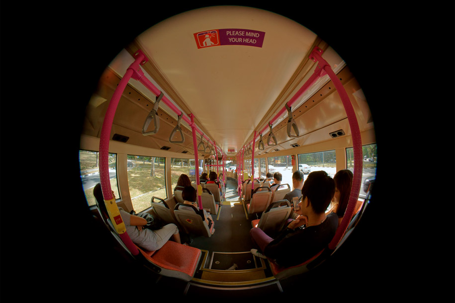 'Bus Ride' (Feb 2014) - Jurong Town Hall Road, Singapore