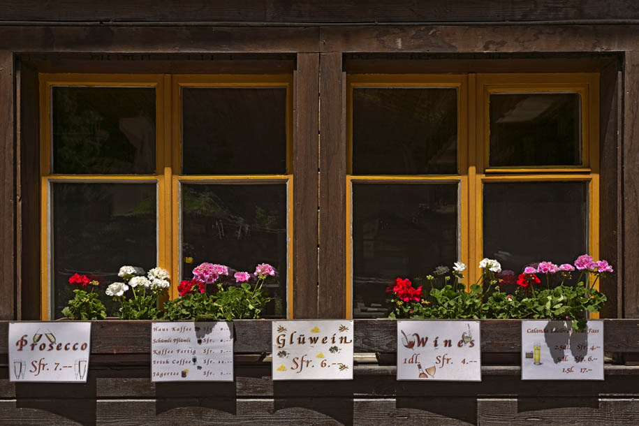 'Price Lists' (Jun 2014) - Zermatt, Switzerland