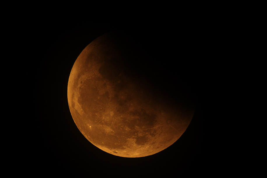 'Lunar Eclipse 2014' (Oct 2014) - Bukit Batok, Singapore