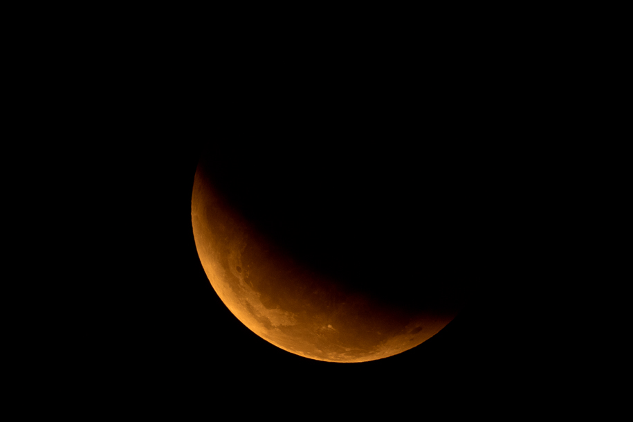 'Lunar Eclipse 2015' (Apr 2015) - Bukit Batok, Singapore