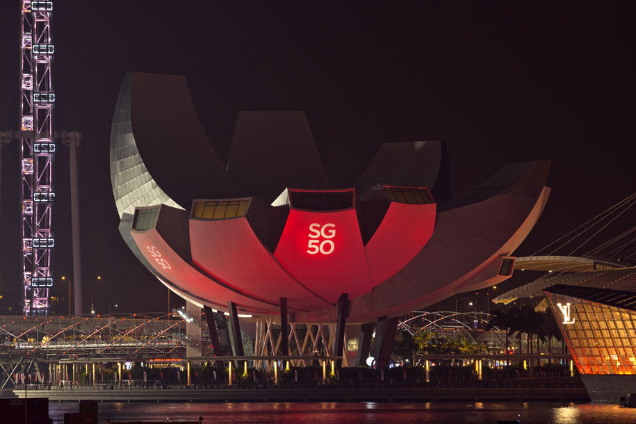 'SG50' (Aug 2015) - Collyer Quay, Singapore